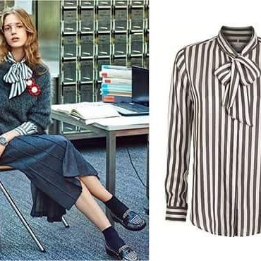 Nasza damska koszula w paski w klimatycznej sesji @ellepolska Jak Wam się podoba w takim wydaniu ?  #wólczanka #wolczanka #fashion #fashionable #style #stylish #shirt #shirts #newcollection