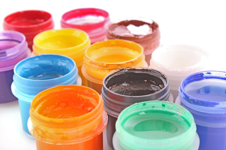 make your own face paint: one tsp cornstarch or baby powder, 1/2 tsp cold cream, 1/2 tsp water in a baby food jar. mix well, add food coloring one drop at a time. start w primary colors.