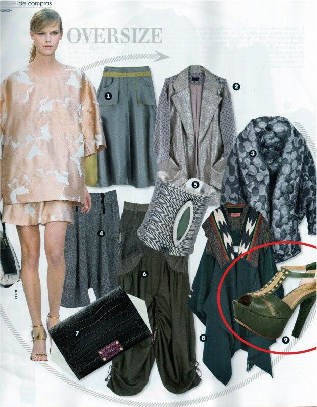 Siuk en revista INFASHION, edición julio de 2013.  Guía de compras.