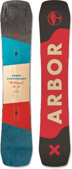 Arbor Men's Westmark Rocker Snowboard  155 Cm