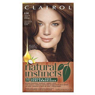 Clairol Natural Instincts Hair Color 16, Spiced Tea, Light Auburn 1 Kit
