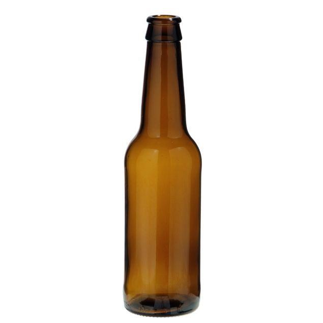 330 ml Beer STD. Botella de vidrio ideal para cerveza.
