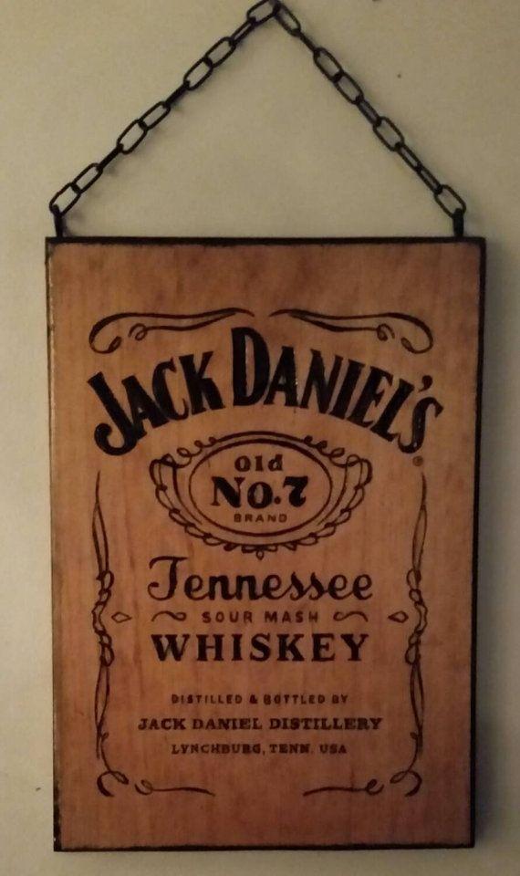 Checkout this awesome Jack Daniel's wood burned sign at https://www.etsy.com/listing/260422737/jack-daniels-burned-wood-sign