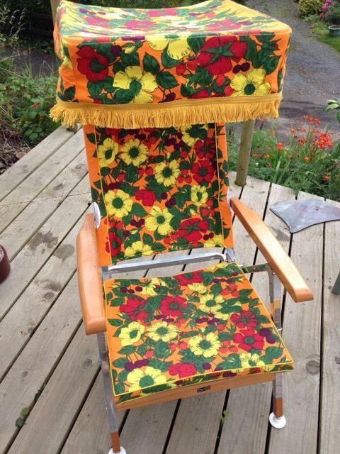 Vintage Floral Retro Garden Recliner/chair | eBay & Best 25+ Garden recliner chairs ideas on Pinterest | Reclining ... islam-shia.org