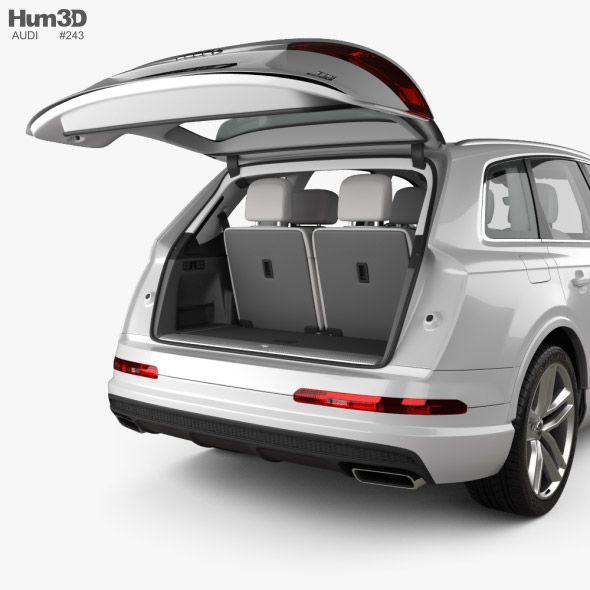 Audi Q7 S Line With Hq Interior 2016 In 2020 Audi Q7 Audi Q7 S Line Audi