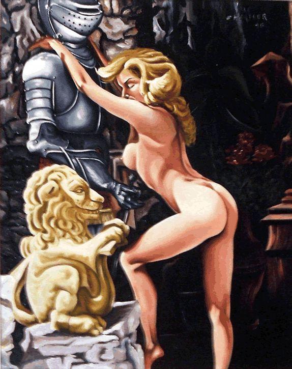 L'origine de l'imposture | Atelier Le Chartier ref# 17 Revêtir l'armure pour résister à la tentation, fait de moi. le roi dans le jungle de mes instincts...FOUTAISE
