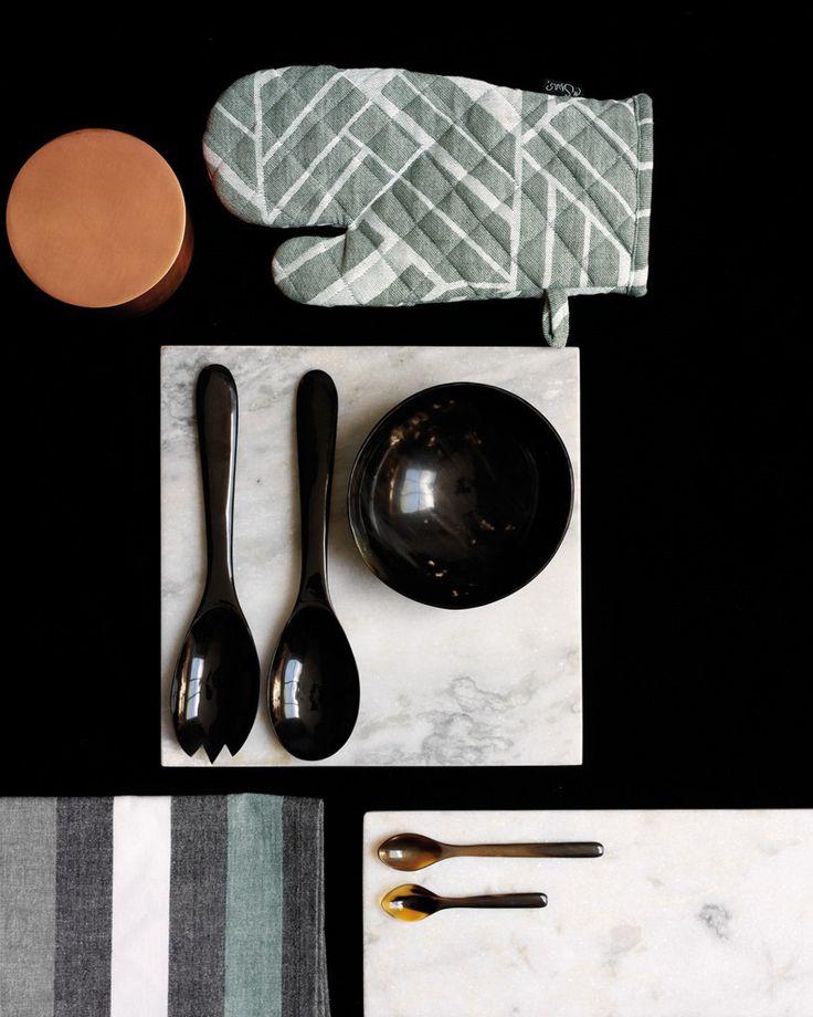 Square Marble Platter by H Skjalm P