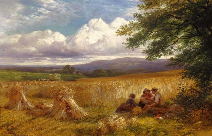 Harvest Rest by George Cole