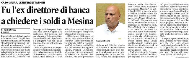 SCRIVOQUANDOVOGLIO: FU L'EX DIRETTORE DI BANCA A CHIEDERE I SOLDI A ME...