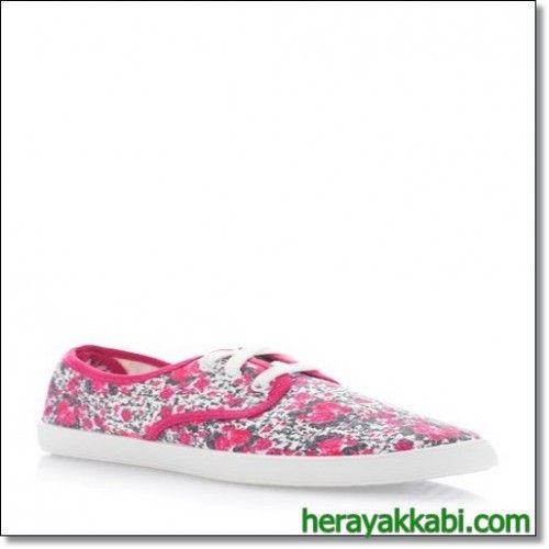 Defacto Bayan Kanvas Spor Ayakkabı Modelleri