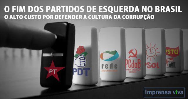 Dilma cassada e Lula preso. O efeito dominó será devastador para todos os…