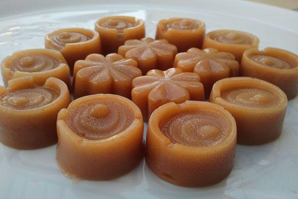 Bonbons Toffee ou du caramel mou, une recette facile et simple à réaliser avec votre Thermomix.