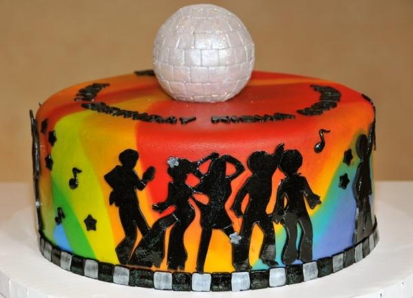 Get Down Disco Cake                                                       …