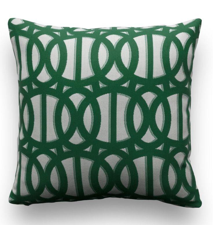 Sunbrella® Pillow Cover - Reflex in Emerald