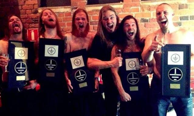 STAM1NA Receives Gold Plaques For Finnish Sales Of 'SLK' Album
