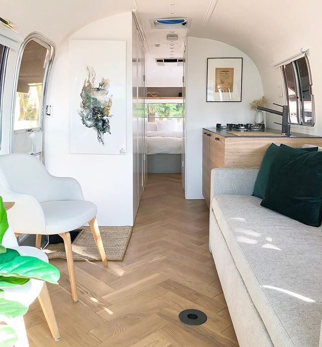 Just A Tad Obsessed With How This Space In Our Airstream Is Coming