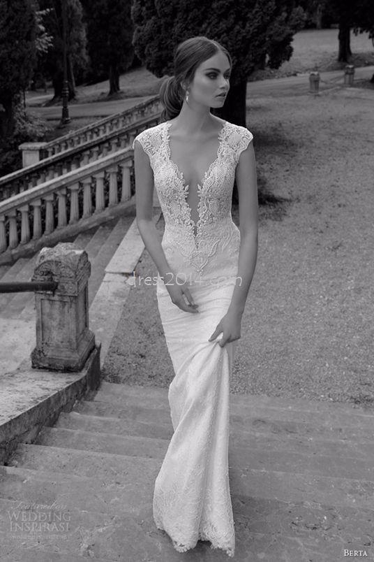 Si puedes usar un escote, este es el ideal...Vestidos de novia vintage para tu boda