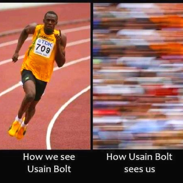 how usain bold sees us