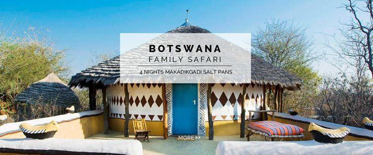 4 Nights Makadikgadi Salt Pans, Botswana