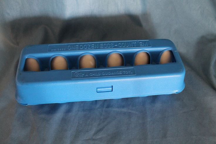 A Child Guidance Toy / One Dozen Eggs - Count Them - Educational