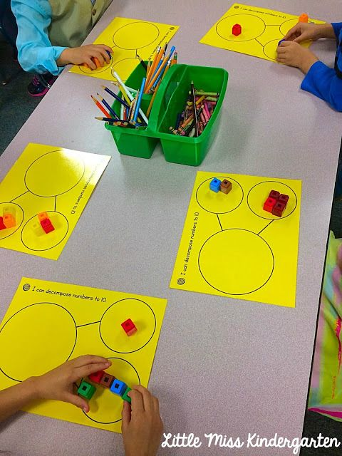 Decomposing Numbers! But shale it like pumpkins!                                                                                                                                                                                 More