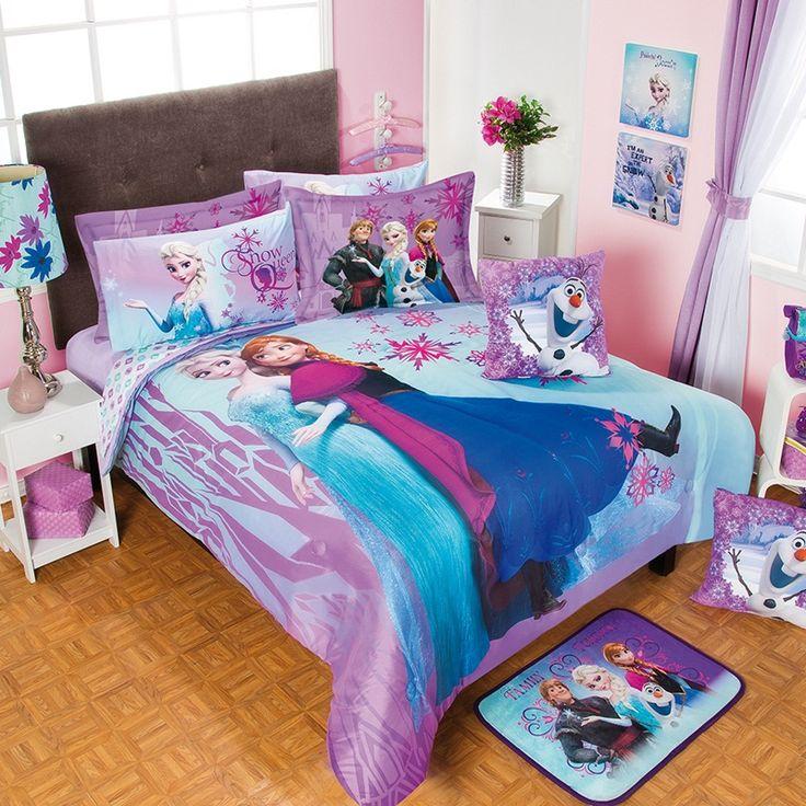 13 best Girls Frozen bedroom ideas images on Pinterest | Bedroom ...