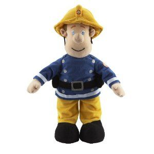 Character Options 12 inch Talking Plush Fireman Sam: Amazon.co.uk: Toys & Games
