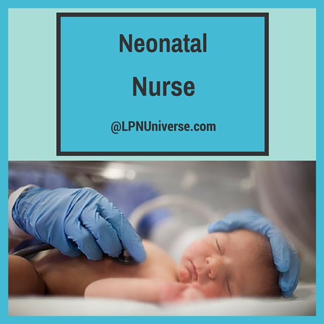 #Neonatal nurse-providing healthcare to newborn infants.