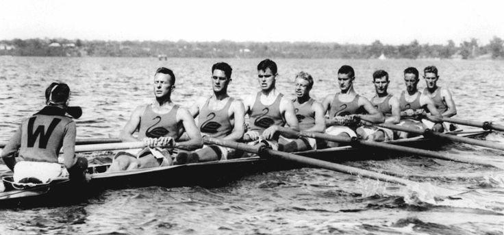Western Australia's King's Cup Crew, Perth Water, Swan River, 1930. Courtesy Jenny Kohlen © Western Australian Newspapers Limited