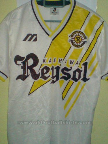 Kashiwa Reysol Fora camisa de futebol 1992 - 1993