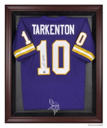 Minnesota Vikings Mahogany Framed NFL Jersey Case