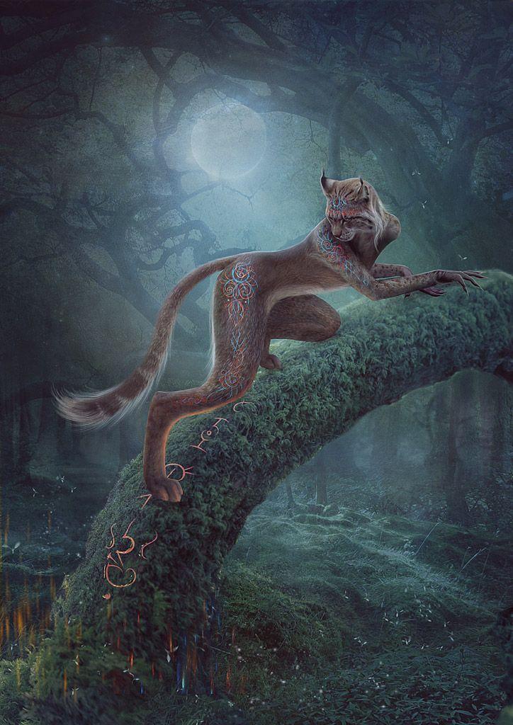 Totemic animal by Vasylina on deviantART