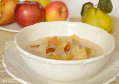 Citromhab: Őszi gyümölcsleves