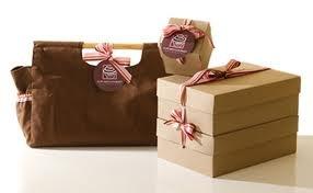 Verpakking doos en tas