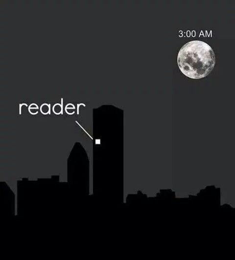 Find the reader!