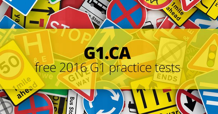 I just got 98% on the Ontario G1 Practice Test One. Think you can do better?…