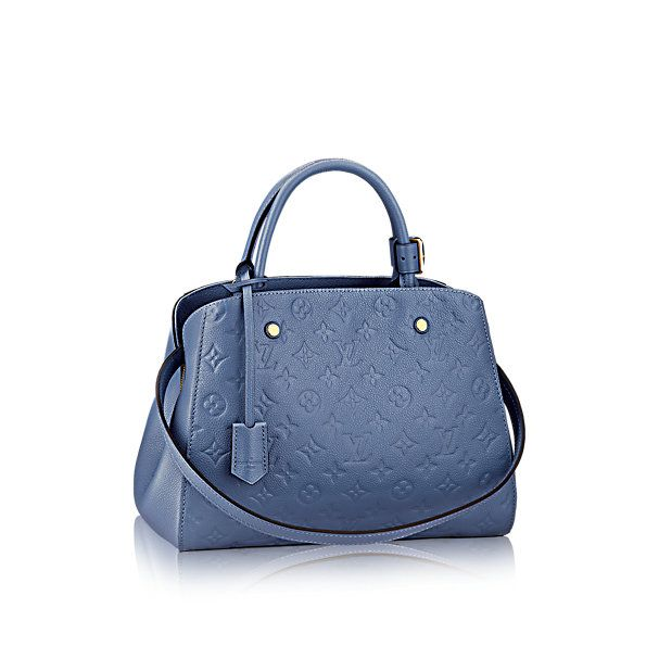 Montaigne MM Monogram Empreinte Leather - Handbags | LOUIS VUITTON