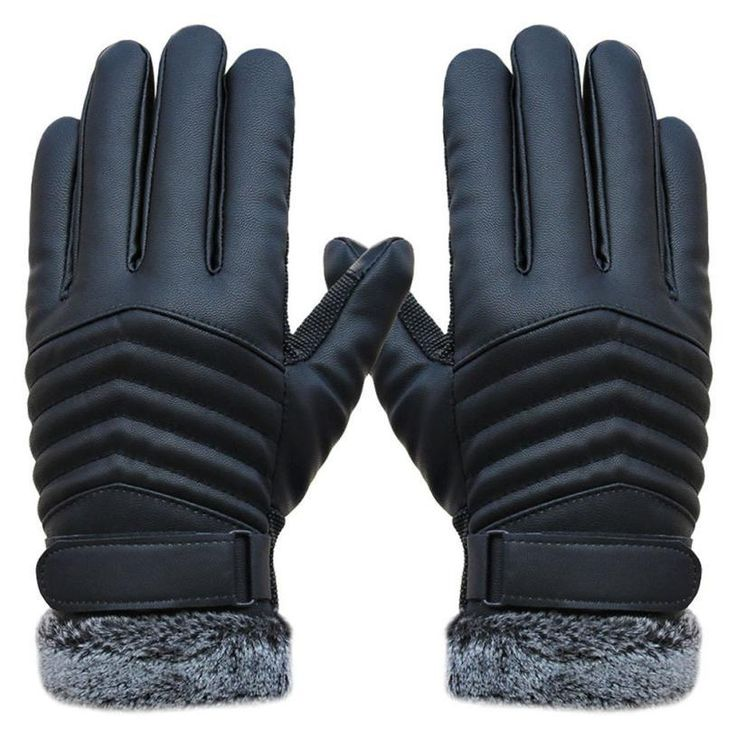 Delicate Men Winter Gloves Men's Leather Gloves driving glove Slip Men Thermal Winter Sports Gloves nor5909