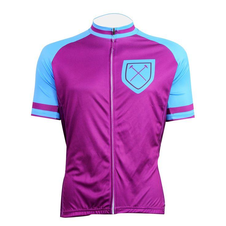 Bike jerseys Cycling equipment Cycling jerseys New Purple No. 6 Alien motoWear Mens Cycling Jersey Cycling Clothing Bike Motorcy #Affiliate