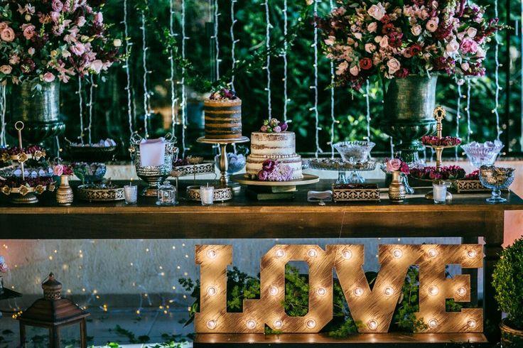 Lápis de Noiva: Vários bolos pequenos