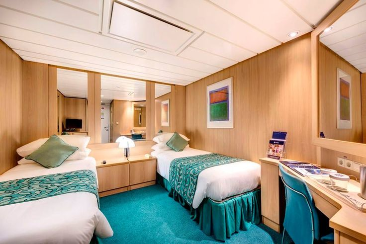 Inside cabin myths debunked!!  Inside cabins are a great choice for cruisers who spend most of their time out and about on the ship... As one should! Read more here: http://travl.to/tHlT305Vlur #WeLoveCruising