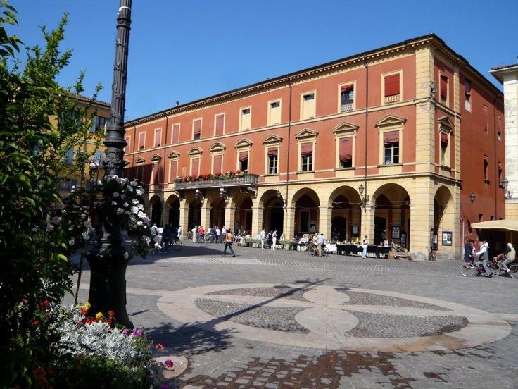 Uno scorcio del Palazzo del Comune di San Giovanni in Persiceto
