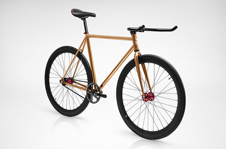 HOPLITE from 479€ A SHINY WARRIOR, COPPER PLATED LEGEND READY FOR A CITY COMBAT SINGLE SPEED CITY BIKES POLISHED LINE Wlkie Cycles - Top quality single speed & fixed gear bicycles.