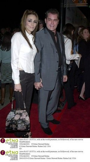 Ray Liotta and His Wife | Actor RAY LIOTTA & wife at the ...