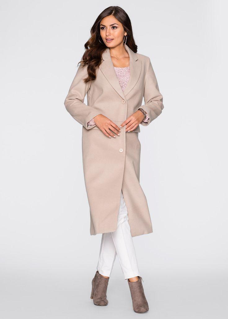 Филетовое пальто, персиковая рубашка, белые брюки, коричневые ботильоны_2