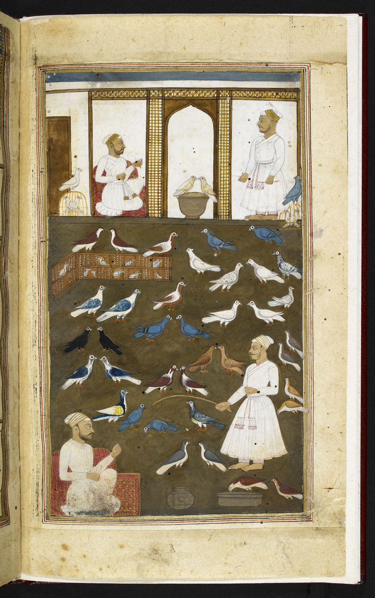 Instructional poem for pigeon-fanciers by Valih Musavi (1788)