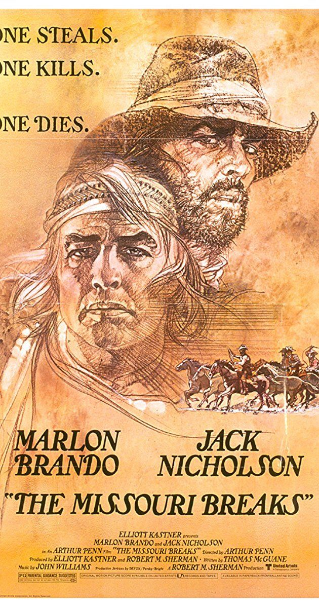 """Directed by Arthur Penn. With Marlon Brando, Jack Nicholson, Randy Quaid, Kathleen Lloyd. Tom Logan is a horse thief. Rancher David Braxton has horses, and a daughter, worth stealing. But Braxton has just hired Lee Clayton, an infamous """"regulator"""", to hunt down the horse thieves; one at a time."""