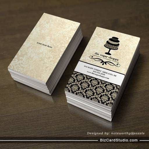 17 Best ideas about Bakery Business Cards on Pinterest | Bakery ...