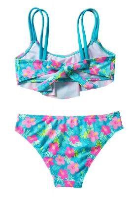 295573a25d5 Girls' Ruffle Flower Print Two Piece Swimsuit Set | swimsuit ...