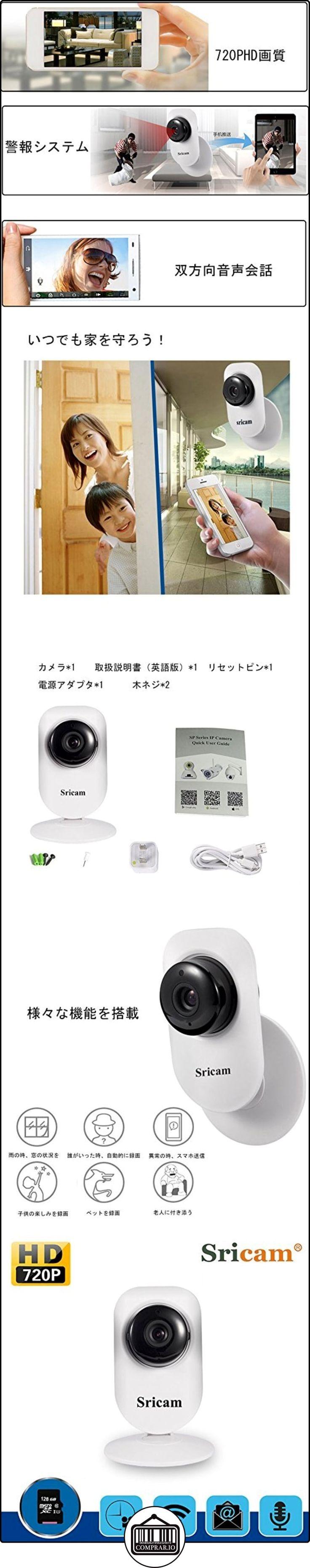 Sricam La monitorización inteligente por una clave de WiFi,cámara de monitor inalámbrico de visión nocturna de alta definición de 720P,función de hacer la alarma móvil----rectángulo  ✿ Vigilabebés - Seguridad ✿ ▬► Ver oferta: http://comprar.io/goto/B01N9UBL08